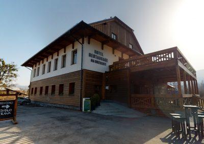 Hotel na Rozcestí, Čeladná