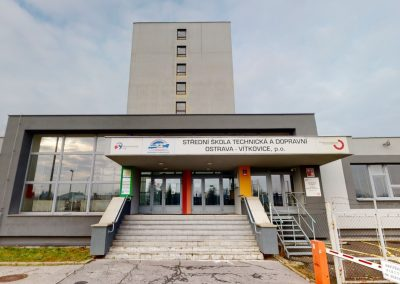 SŠTD Ostrava-Vítkovice, hlavní budova