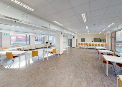 OPF – Profesní centrum, tělocvična, Slezská univerzita
