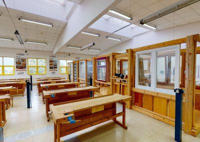 LDF MENDELU – Pavilon dřevařské technologie, 1.patro