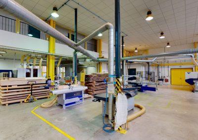 LDF MENDELU – Pavilon dřevařské technologie, hl. dílny