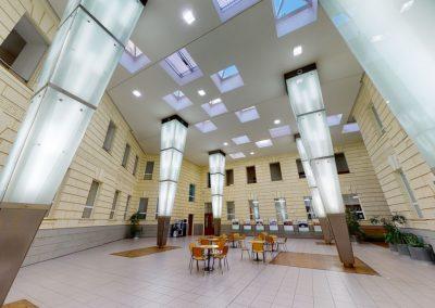MUNI FSS – Atrium Iva Možného, knihovna FSS