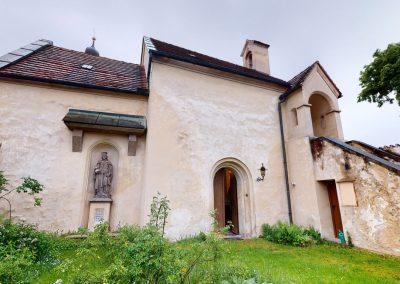 Kostel Sv. Kateřiny, Tetín