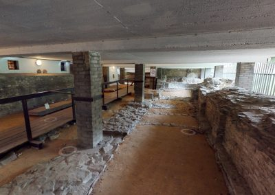Vyšehrad Bazilika Sv. Vavřince – vykopávky