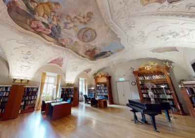 Klementinum – Studovna hudebního oddělení