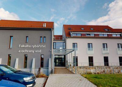 MEVPIS FROV JU – hl. budova